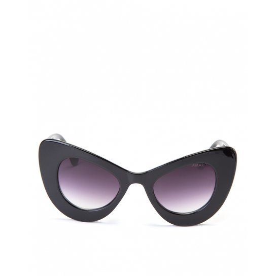 Óculos Amaro De Sol Gatinho 70 s Maxi Feminino - Compre Agora   Zattini 4746b84bcb