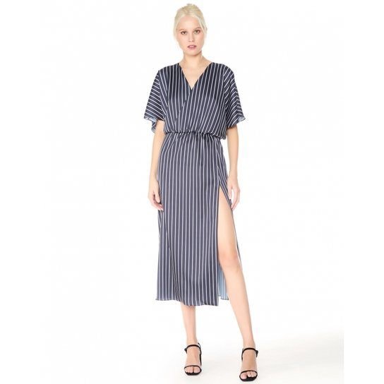0bbaa1508 Vestido Amaro Longo Transpassado Estampa - Compre Agora | Zattini