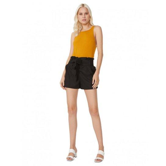 9240adbaaa1 Shorts Amaro De Linho Clochard Feminino - Compre Agora