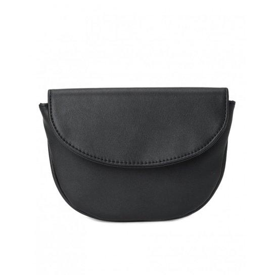 2b0c6efbeced96 Pochete Amaro Belt Bag Feminina - Preto | Zattini