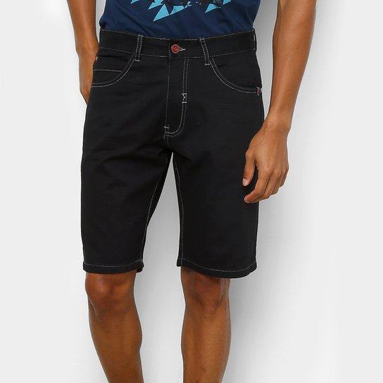 057ee77428e Bermuda Ecko Color Slim Masculina - Preto - Compre Agora