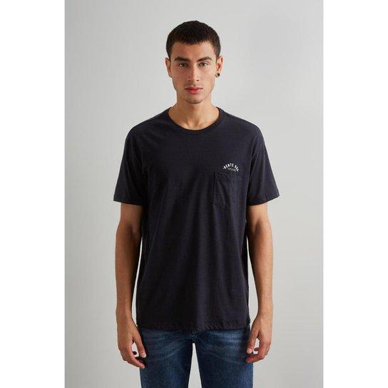 191785bf1 Camiseta Reserva Bolso Masculino - Preto   Zattini