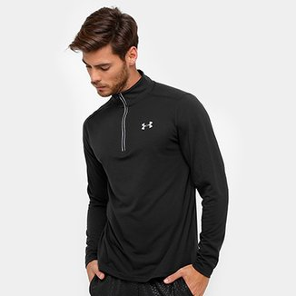 f0ae738c3cd Blusa Under Armour Streaker 1 4 Zíper Masculina