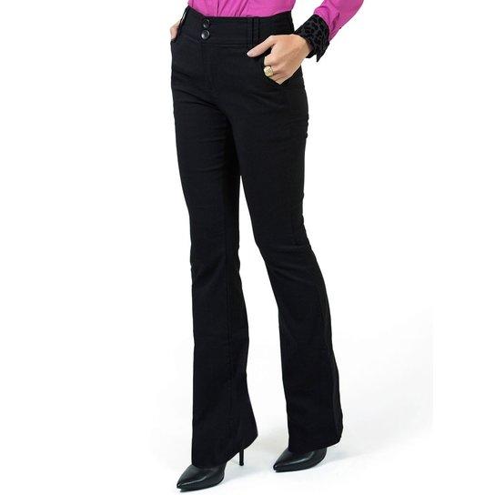 894f856ca Calça Flare Cintura Alta Principessa Dina - Compre Agora   Zattini