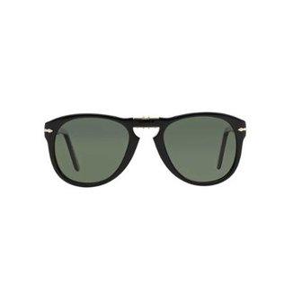 2bece6d9b8561 Óculos de Sol Persol Piloto PO0714 Dobrável Masculino