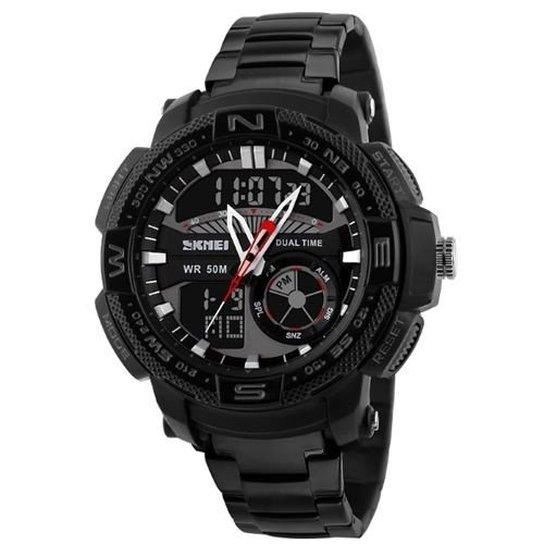 90eb71b81c3 Relógio Skmei Anadigi 1121 - Preto - Compre Agora