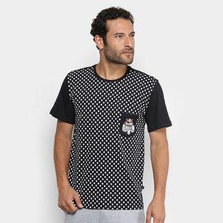 Camiseta Red Bull Skate Generation Skull Bolso Masculina 9b9513e881e