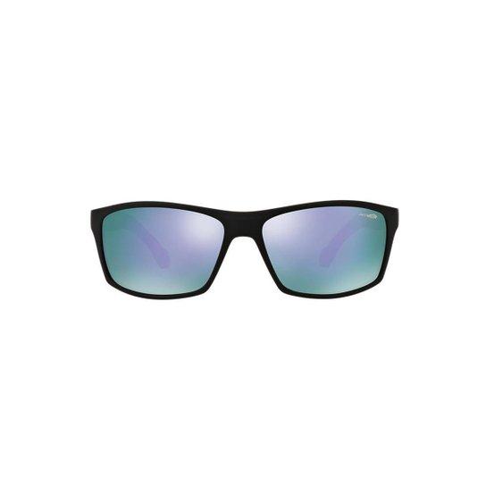 fcfebf1477981 Óculos de Sol Arnette Retângular AN4207 Boiler Masculino - Preto ...