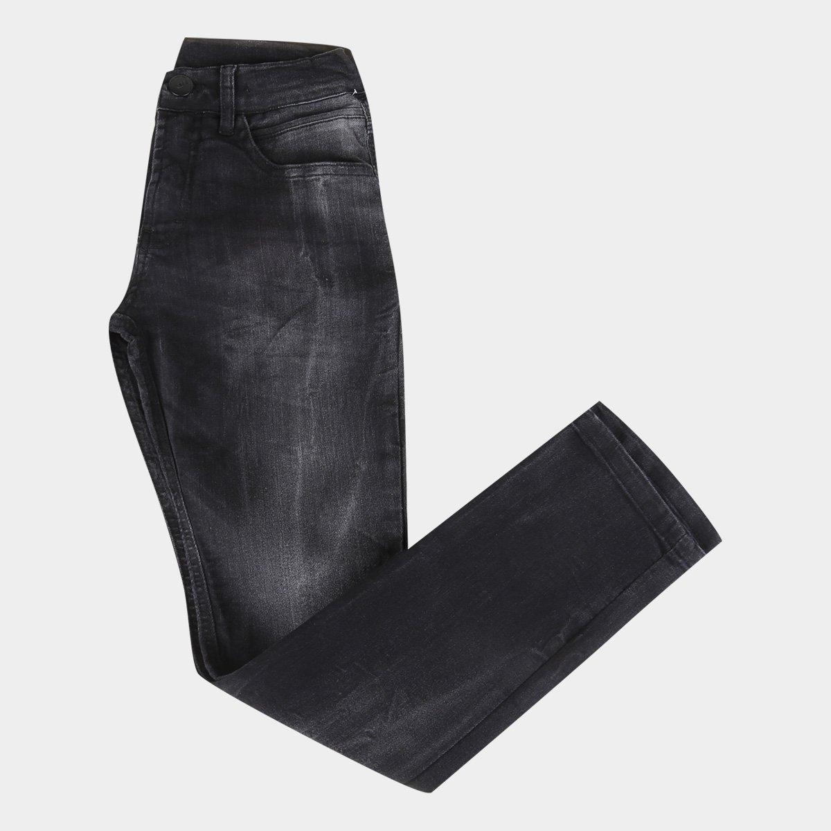Calça Jeans Slim Juvenil HD Slim Dusky Masculina