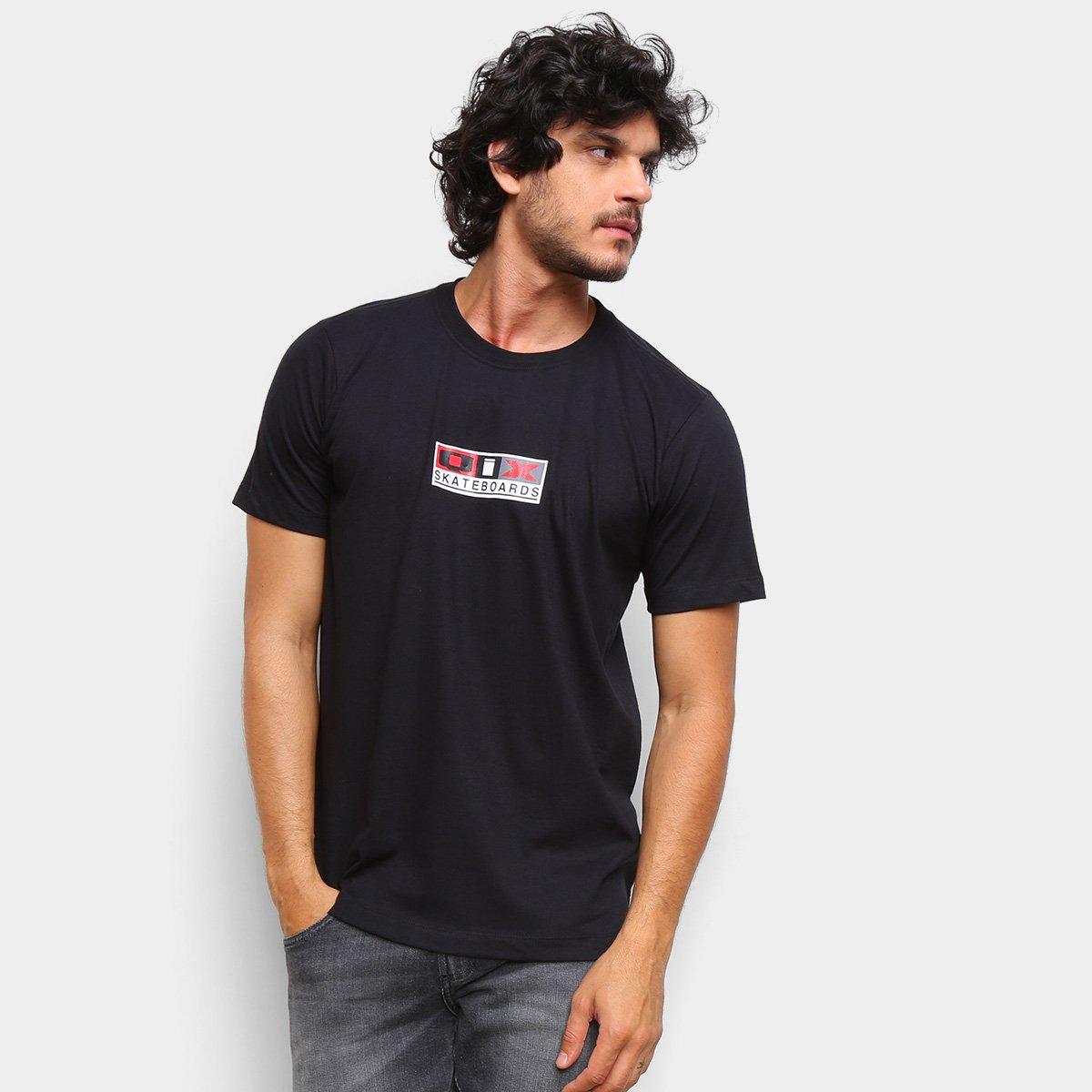 Camiseta Qix Classic Skateboards Masculina