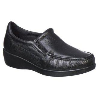 26e436ffa3 Sapato Feminino Doctor Pé Conforto em Couro