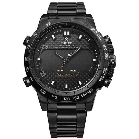 d502d9705ac Relógio Masculino Weide Anadigi WH-6102 - Compre Agora