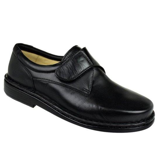 015df4c6d Sapato Conforto Opananken Velcro Masculino - Preto | Zattini