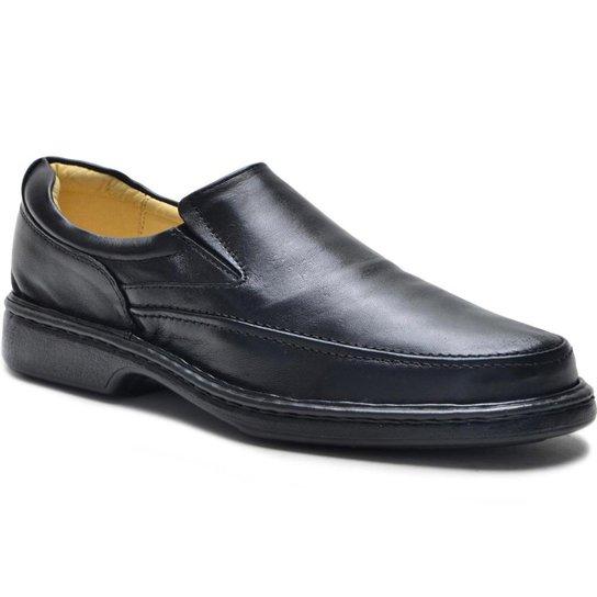 abe45e9df Sapato Social Linha Conforto Diabético Masculino - Preto | Zattini