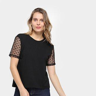 c636be11de1ae6 Compre Blusa de Tule Online | Zattini