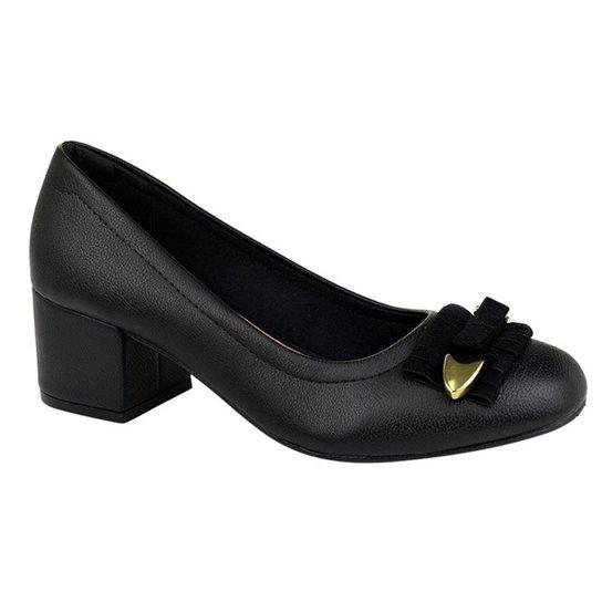 e4be74a826 Sapato Renata Della Vechia Laço Feminino - Preto - Compre Agora ...