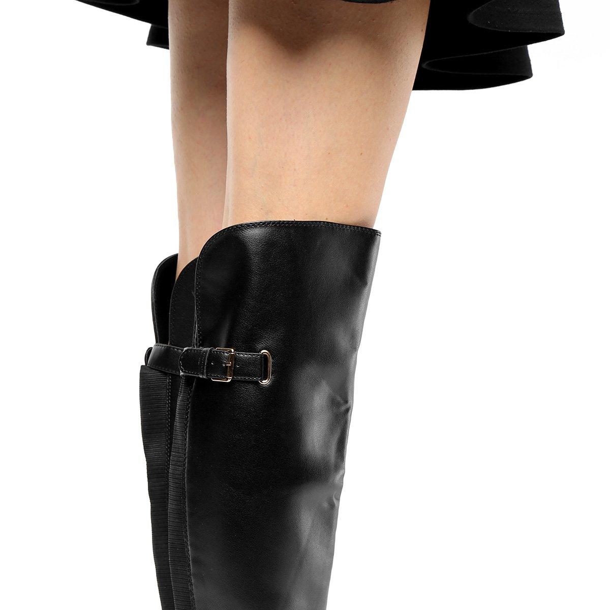 598078d69 Bota Over The Knee Via Uno Salto Baixo Feminina   Livelo -Sua Vida com Mais  Recompensas