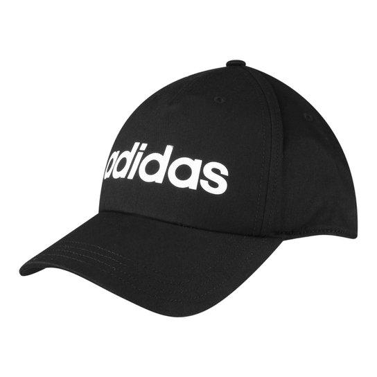 e53622e930 Boné Adidas Aba Curva Daily Masculino - Preto - Compre Agora