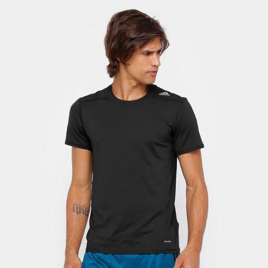 2243d3dc6a Camiseta Adidas Tf Base Fitted M Masculino - Preto - Compre Agora ...