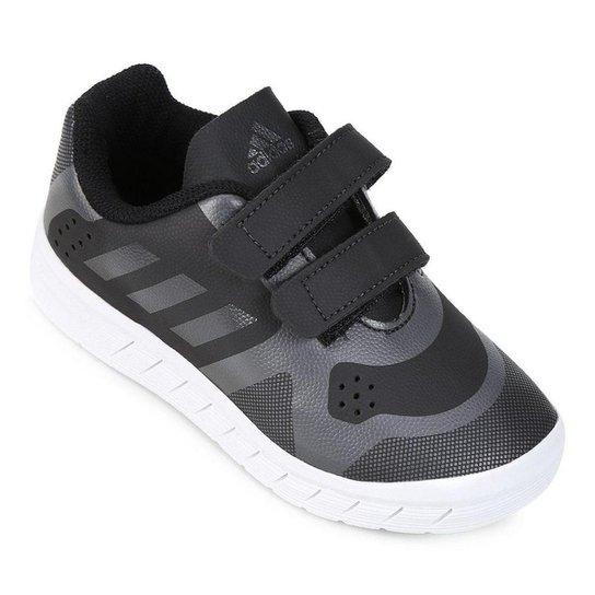 Tênis Infantil Adidas Quicksport Cf 2 C Velcro - Preto - Compre ... 35b9dbdb540