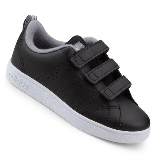 Tênis Infantil Adidas Vs Advantage Clean C - Preto - Compre Agora ... fdddeda1677