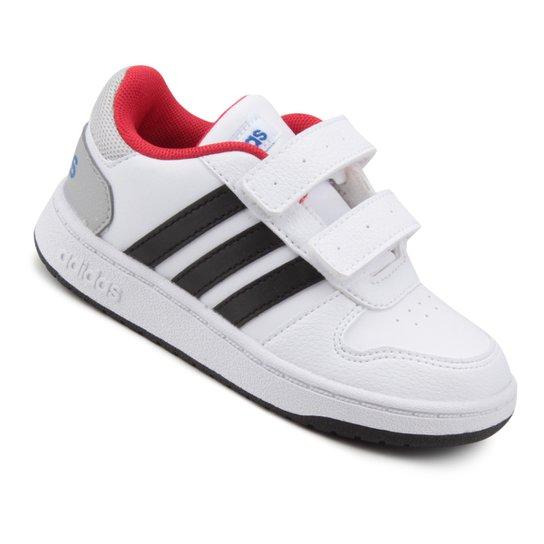 938417875 Tênis Infantil Adidas Vs Hoops 2 Cmf - Compre Agora