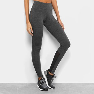 5937a4159 Calça Legging Adidas M 3S Feminina