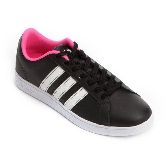 18b67dc3b8 Tênis Adidas Vs Advantage Feminino - Preto