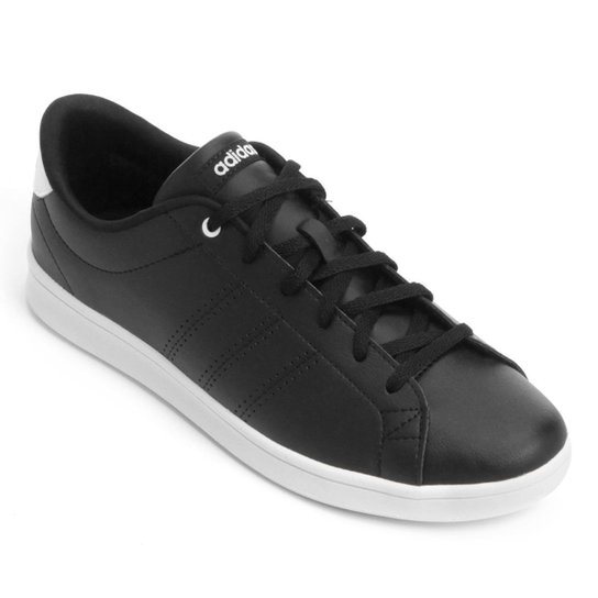 Tênis Adidas Advantage Clean Qt Feminino - Preto - Compre Agora ... 09efb9337ea64