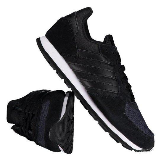 e15b6f3463 Tênis Adidas 8K Feminino - Preto - Compre Agora