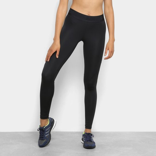 Calça Legging Adidas AlphaSkin Feminina - Preto - Compre Agora  7d346a4489e08