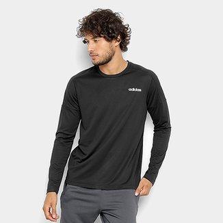 d04578088d Camiseta Adidas Design 2 Move Manga Longa Masculina