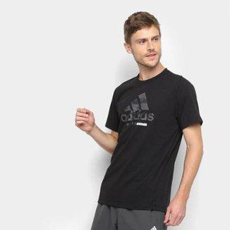 85250bb29aa Camiseta Adidas Logo FreeLift 360 Masculina