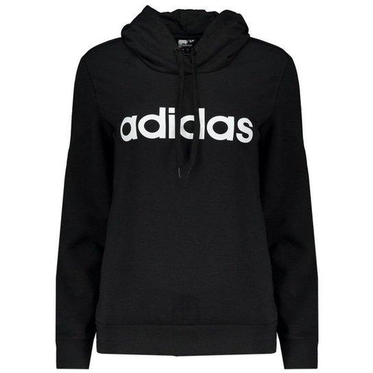 5a6ff0fefc Moletom Adidas LIN OH HD - Preto   Zattini