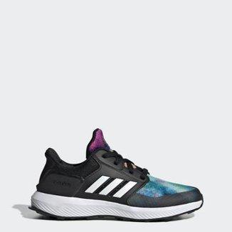 5b4f14ff36b Tênis Infantil Adidas RapidaRun X Feminino