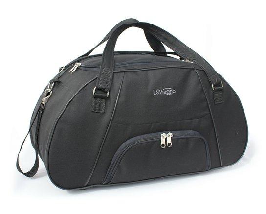 6d5b3d505 Bolsa de Viagem LS Bolsas com bolso frontal, alças tiracolo e alças de mão -