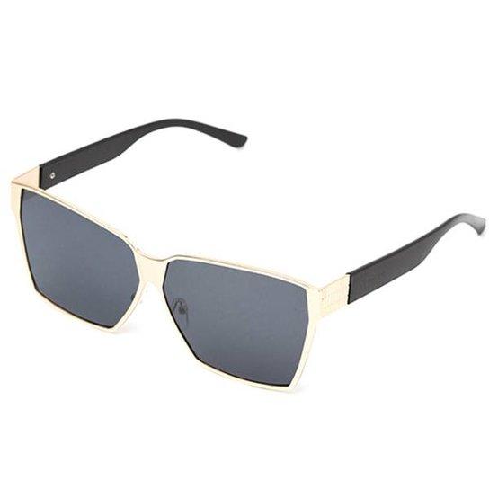 Óculos de Sol Thomaston Mega Fashion Preto - Compre Agora   Zattini a7d1d3e3ab