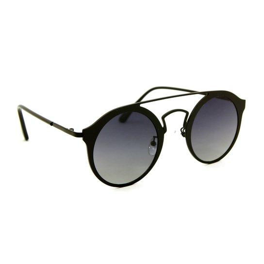 Óculos de Sol Estilo Top Bar Redondo - Compre Agora   Zattini 3de439225d