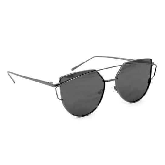 Óculos de Sol Top Bar Style - Preto - Compre Agora   Zattini f4cda70ec5
