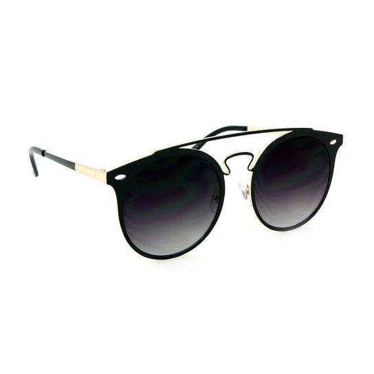 e0b551aecb8ad Óculos de Sol Top Bar Redondo - Compre Agora