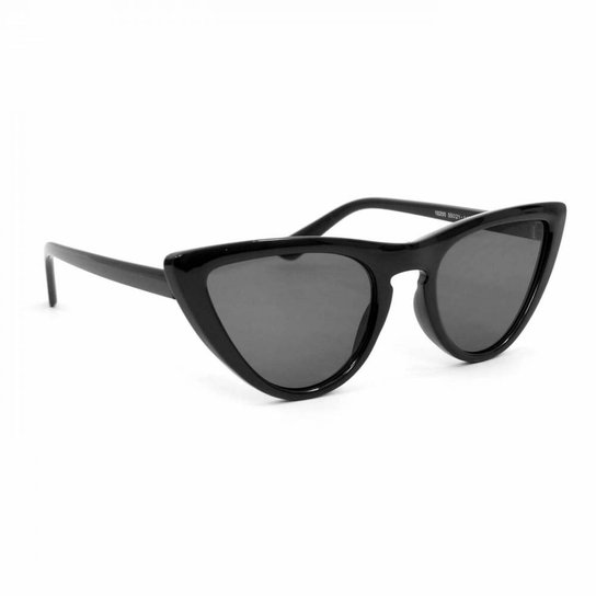 63632bfe9a6ae Óculos de Sol Gatinho - Preto - Compre Agora   Zattini