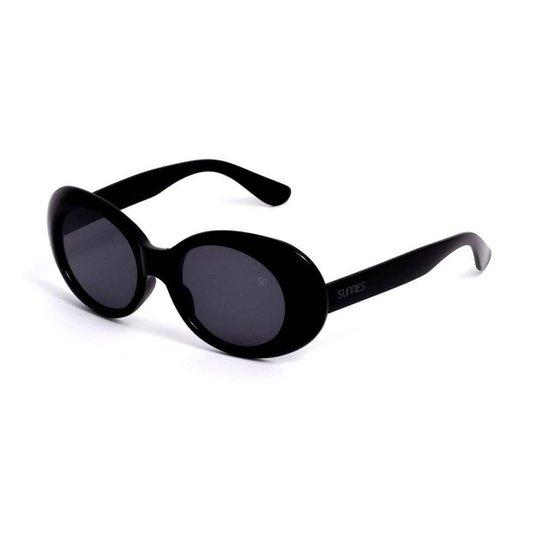 a27596b15 Óculos de Sol Oval - Preto | Zattini
