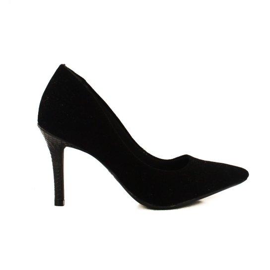 6ec0d3aaaa Sapato Scarpin Ramarim - Preto - Compre Agora