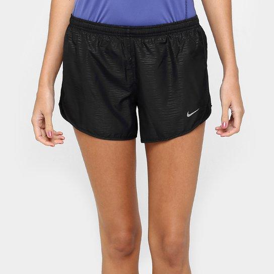 Short Nike Dri-Fit Modern Embossed Tempo Feminino - Compre Agora ... 7b618039cbc91