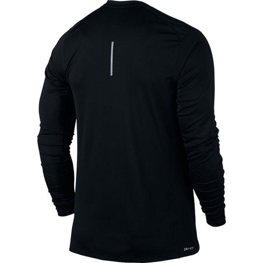 19d2141665 Camiseta Nike Dri-Fit Miler Manga Longa Masculina - Compre Agora ...