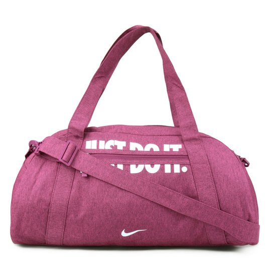 1270cbb0e Bolsa Nike Gym Club Feminina - Rosa e Branco | Zattini