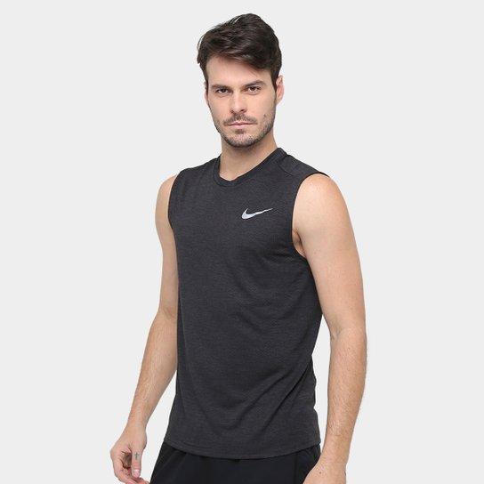 578680cf95 Regata Nike Miler Cool Dri-Fit Masculina - Preto