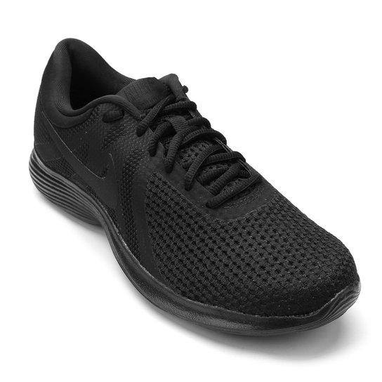 Tênis Nike Wmns Revolution 4 Feminino - Preto - Compre Agora  b5154e9dbf24e