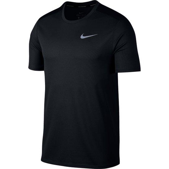 dac5f218e Camiseta Nike DRI-FIT Run Masculina - Preto