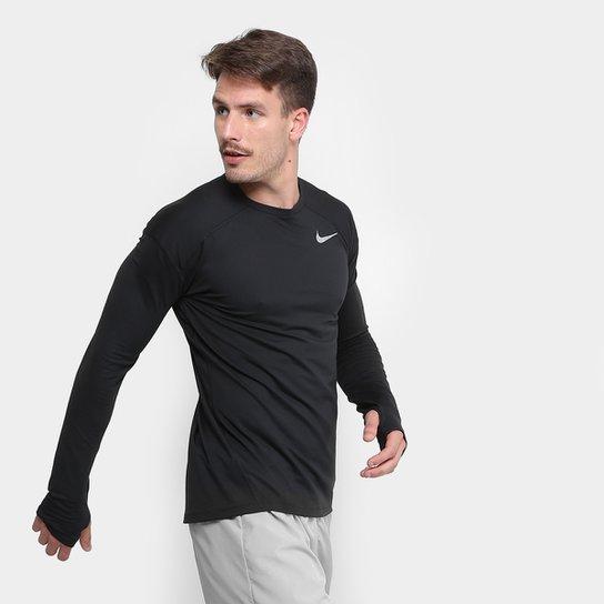 4e2c72d268 Camiseta Nike Dry Element Crew Manga Longa Masculina - Compre Agora ...